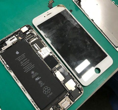 iPhone6Plus 画面割れ修理【ガラス割れ・液晶破損】