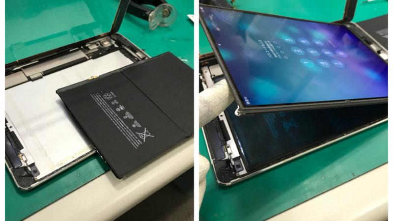 iPadAir バッテリー交換 【起動しない】