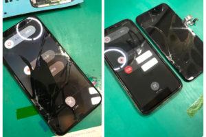 iPhoneX 画面割れ修理【有機ELパーツ】