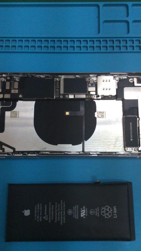 iphoneXRバッテリー交換!
