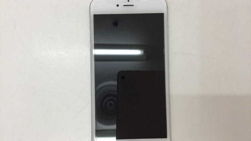 iPhone6Plusのガラスフィルム貼付