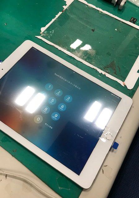iPad6 画面割れ修理