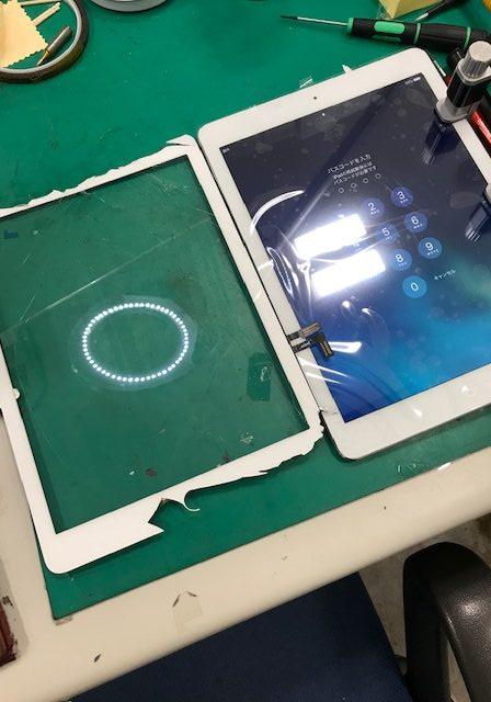 iPadAir 画面割れ修理