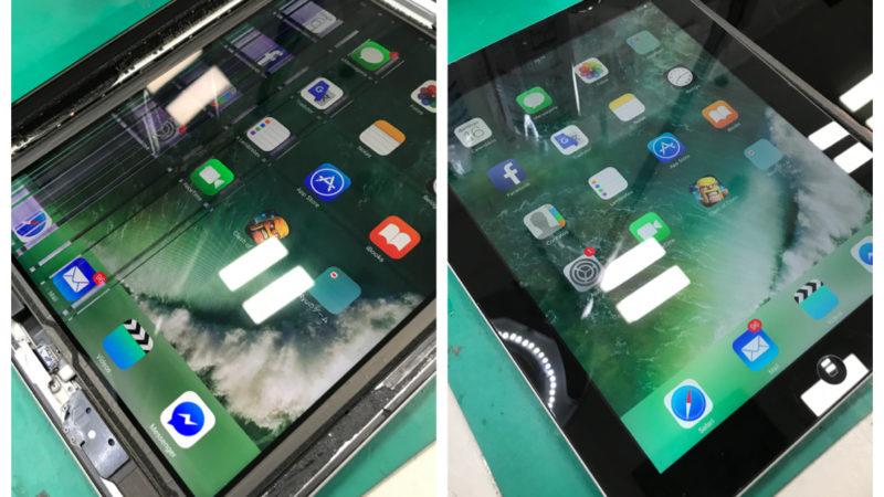 iPad4 液晶破損修理
