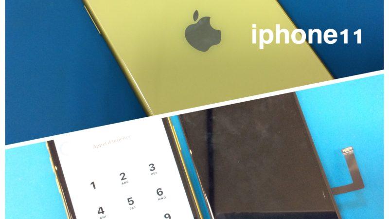 iphone11 液晶破損修理🎶