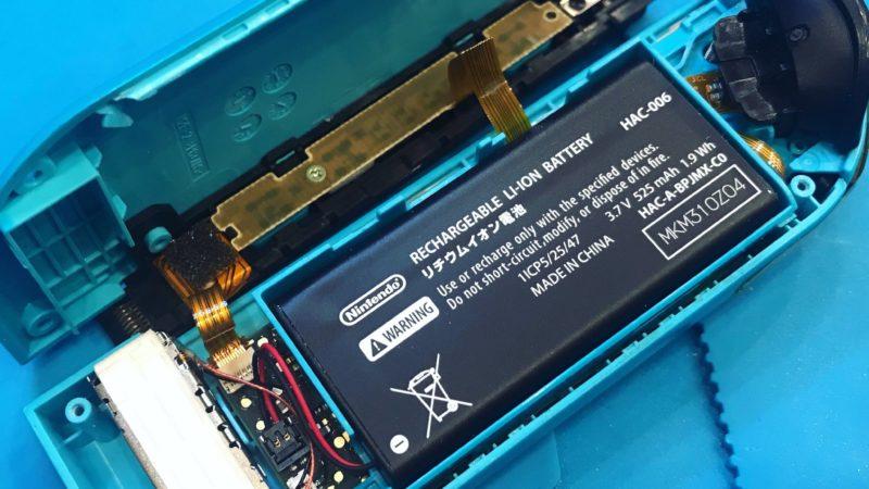 Nintendo Switchの修理も承っております♪