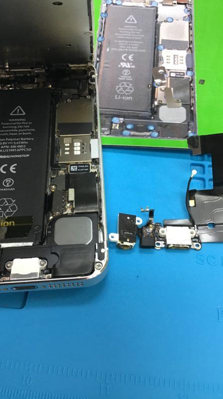 iPhone5ドックコネクター交換!!