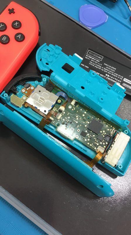 switch修理!!