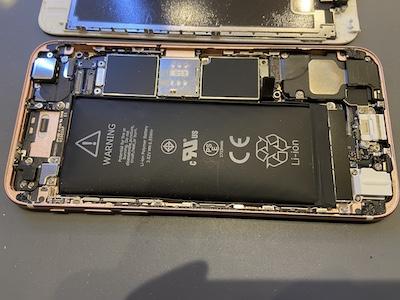 画面が浮いてしまったiPhone6S