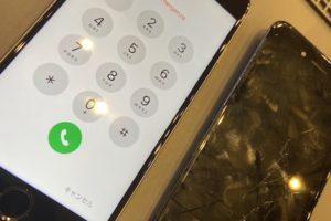 iPhone6sの画面修理!