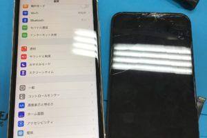 iPhone11液晶交換!!