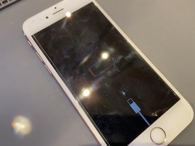 電源が入らないiPhone6Sの修理