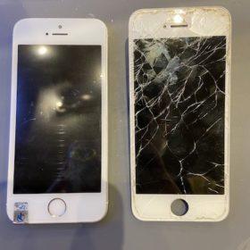 iPhoneSE 画面交換しました!