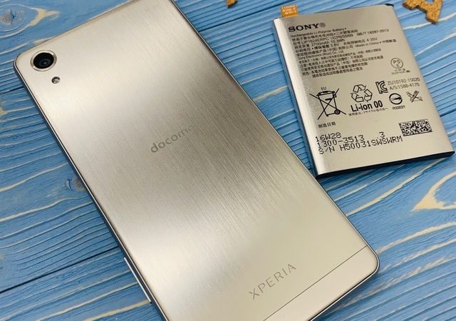 Xperia 【X Performance】バッテリー交換