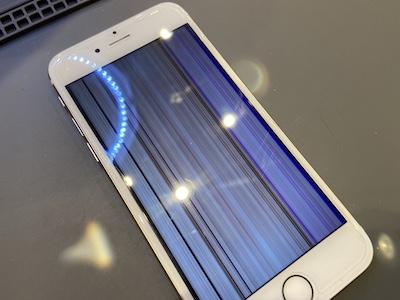 画面が映らなくなってしまったiPhone6Sの修理