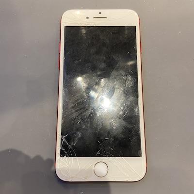 iPhone7の画面割れ修理!