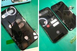 岡崎市よりiPhoneX 画面割れ修理にてご来店