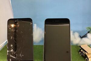 刈谷市より、iPhone8の画面交換でご来店いただきました。