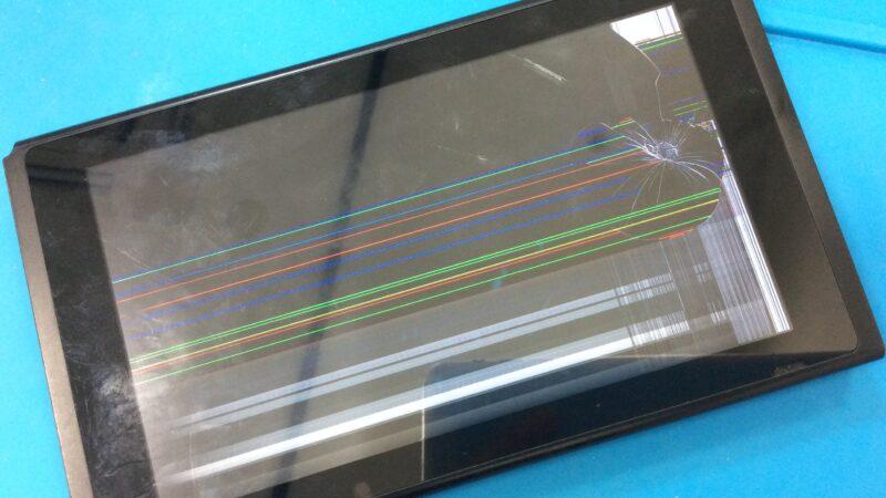 豊田市より【Nintendo Switchの液晶 】の修理でご来店、当日修理であれば、当店へお任せくださいませ!!