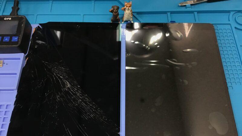 刈谷市より【iPad Pro】の画面とバッテリー交換、即日修理は当店へお任せあれ!!