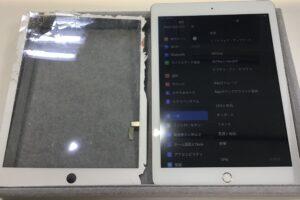 西尾市より【 iPad 5 】の画面修理にてご来店。即日修理であれば当店へお任せ!!